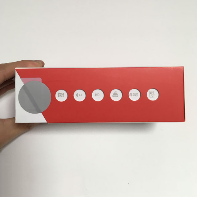 ASUS ZenFone 2 Laser 箱のアイコンの意味