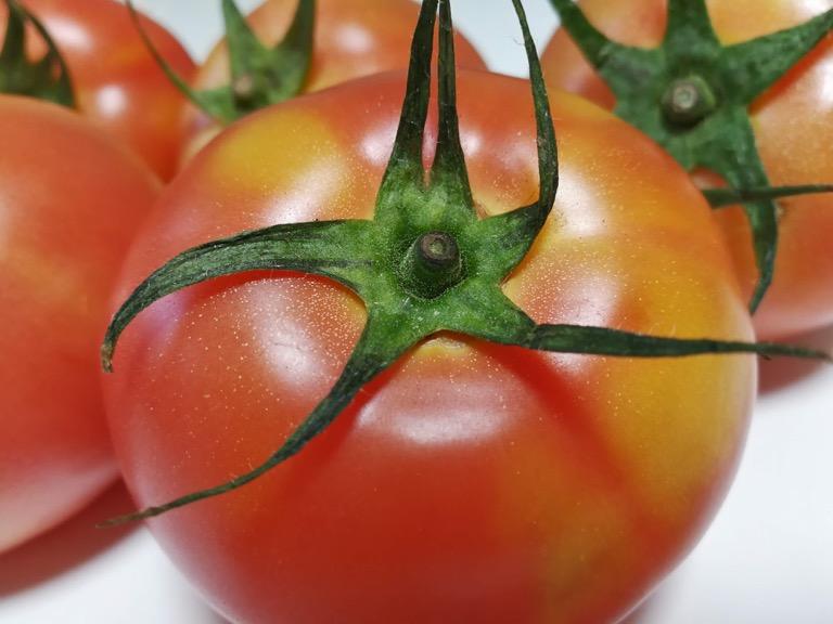 Huawei Mate 9 で接写したトマト